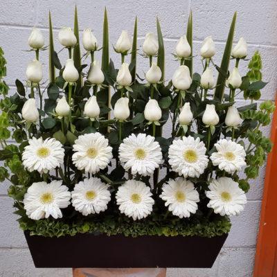 Arreglo de Flores Blancas