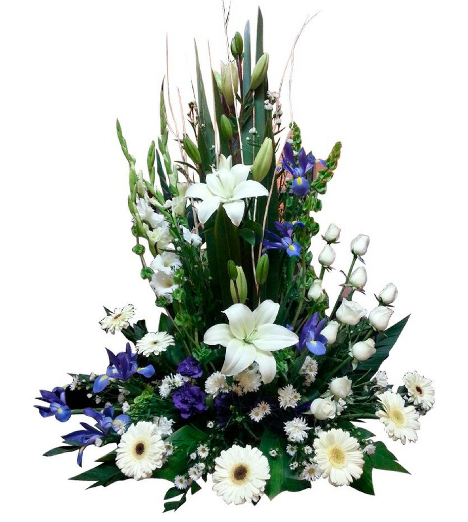 Arreglo Floral Para Funeral Mixto