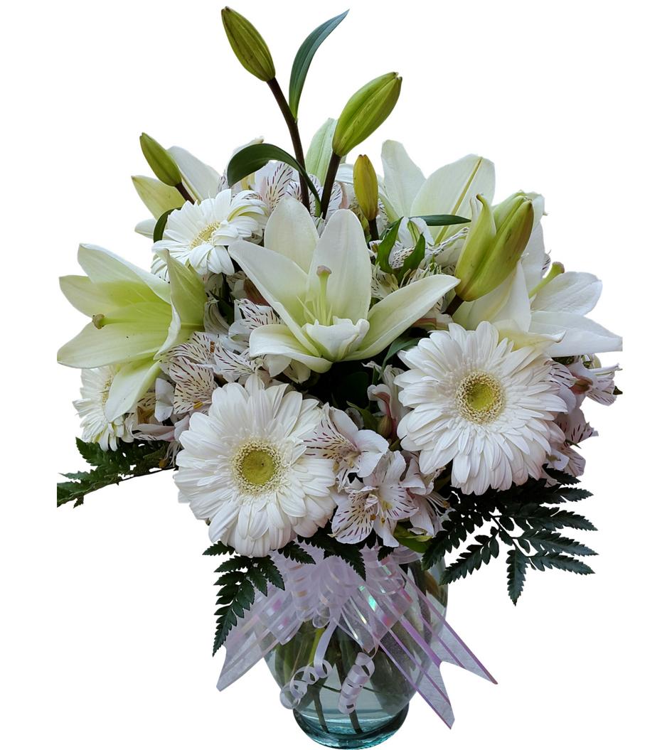 Arreglo Floral Para Funeral De Gerberas