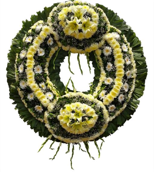 Entrega de Flores fúnebres en la ciudad de méxico